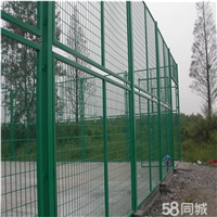 供应扬州锌钢喷塑仓库隔离护栏