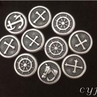 供应金属饰品仿古银表面处理加工
