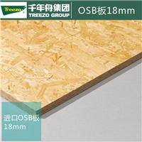 千年舟实木切片板 OSB板 定向结构刨花板 无醛板