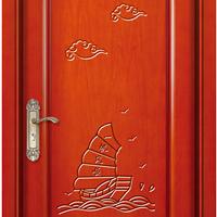 伊登高端原木进户门橡木房间门复合门生态门