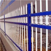 供应抚顺蓝白锌钢护栏 公园草坪护栏