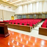 亿都欢天喜地木地板之会议中心木地板装修