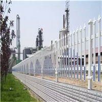 供应别墅塑钢防护栅栏 PVC钢材组装护栏