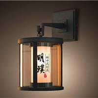 茶室新中式玻璃壁灯 新中式灯具厂家品牌