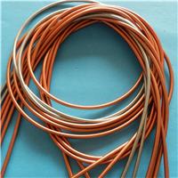 供应苹果手机玫瑰金数据线金属软管 弹簧管