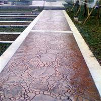 青岛市压花地坪;压模地坪;透水地坪;材料