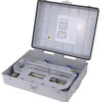 供应塑料48芯光纤分纤箱 法兰支架式