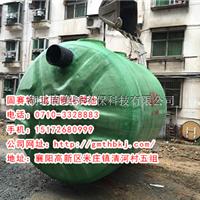 供应武汉井字支撑玻璃钢化粪池立式水塔