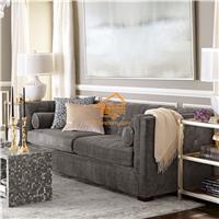 美式布艺沙发定制定做酒店/会所/餐厅沙发
