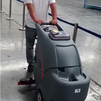 兰考尉氏高美手推式洗地机清洗工厂车间地面