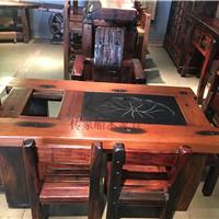 船木家具电磁炉茶台,