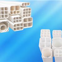 供应培达塑料pvc栅格管pvc方管pvc多孔管