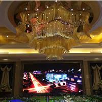湖北武汉房地产销售大厅P4LED显示屏价格