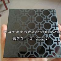 黑钛不锈钢蚀刻板