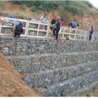 生态河道治理/山体边坡防护格宾挡墙