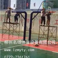 供应桂林理工大学中标案例 篮球架安装现场