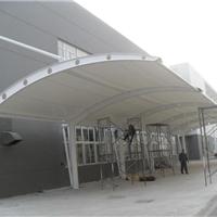 供应膜结构停车棚图片价格厂家梓昂膜结构
