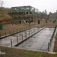 供应渡海登岛四百米障碍器材批发环保材质