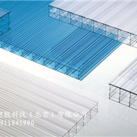 康柏宇阳光板与钢架结构固定方法