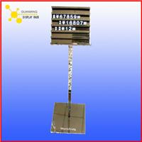 供应不锈钢钛金展示架 展示立牌来图定做