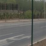 道路波浪护栏绿色波浪荷兰网道路绿化绿篱网