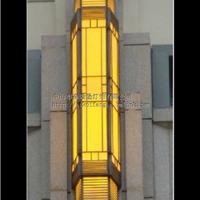 室外柱子仿云石/亚克力/玻璃户外防水壁灯
