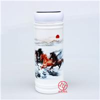 供应定制陶瓷保温杯 保温容器