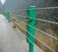 供应四川缆索护栏厂家、六索缆绳护栏厂家