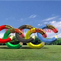 供应奥运环不锈钢雕塑 不锈钢雕塑厂家