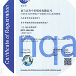 TS16949汽车认证