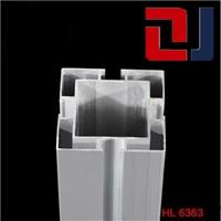供应国标6363流水线升降立柱方管铝型材
