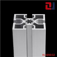 供应国标5050工业铝材流水线机架铝合金型材