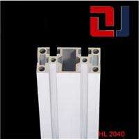 供应国标2040工业铝合金型材方管组装铝方管