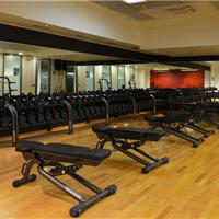 供应亿都欢天喜地木地板之健身房木地板装修