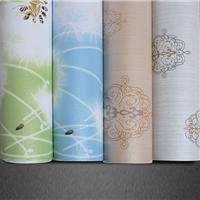供应天然PVC材料墙纸不发霉彩装膜