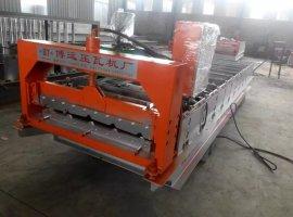 新疆全自动彩钢压瓦机屋顶板彩钢压瓦机厂家