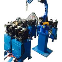 供应广东伊亚多工位工业机器人工作站实物图