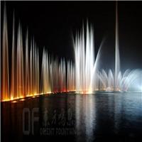 大型水上漂浮音乐喷泉设计施工-东方鸣泉