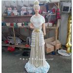 供应女娲神像塑像厂家 树脂彩绘 寺庙佛像