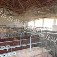 养殖场喷雾降温市场消毒通道工程大