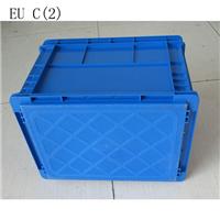 供应上海塑料箱 带盖周转箱EUB多功能箱