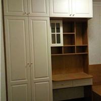 广汉书柜衣柜同色移门整体衣柜代工企业代理