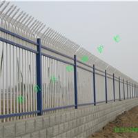 供应厂区围墙锌钢护栏防攀爬