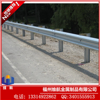 广东高速防撞护栏板 公路波形梁钢护栏