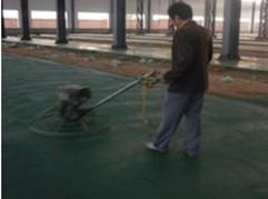 威海地区负责做金刚砂耐磨地面工程的