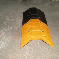 鱼尾型减速带 鹏翔瑞PXR减速板 量大从优