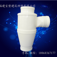 厂家直销PVC特殊单立管旋流三通 PVC三通