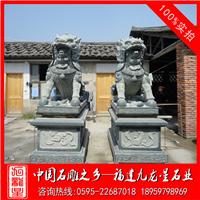 寺庙祠堂麒麟雕塑  青石麒麟  石雕麒麟厂家