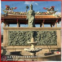 寺庙山门人物神像大型园林古建石雕工程