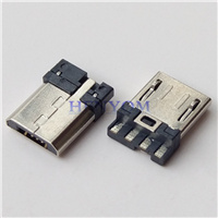 MICRO 5P公头焊线超短体9.3 前五后四 6.0